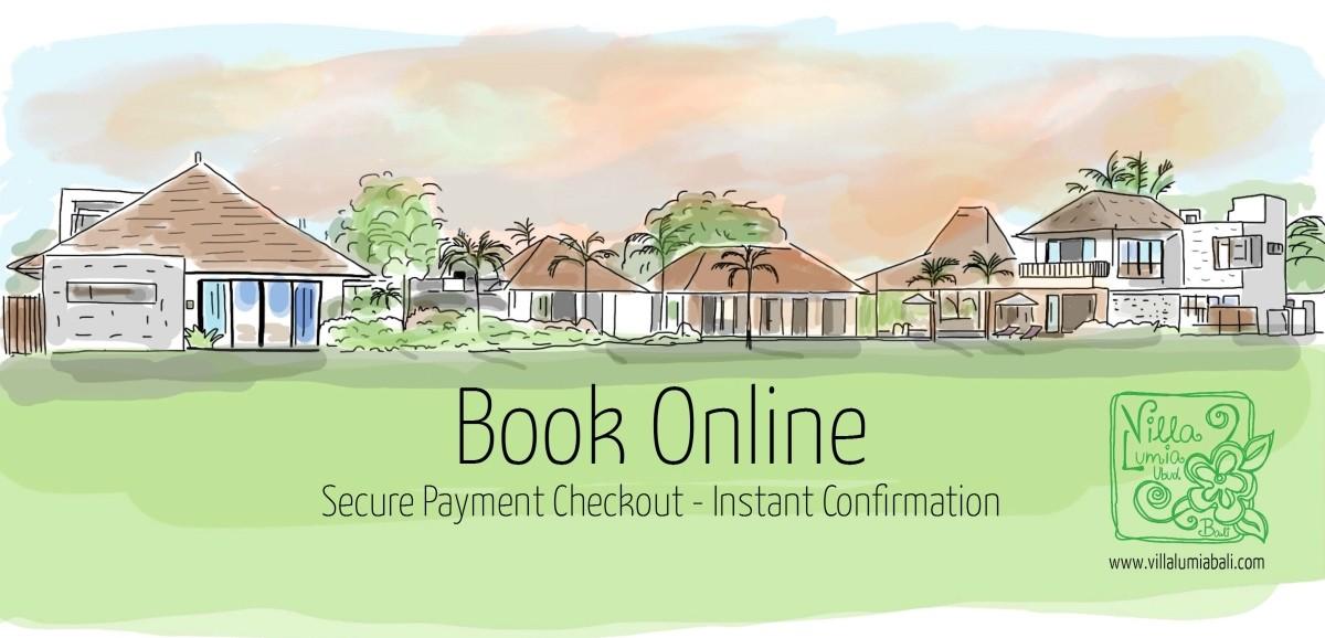 Book Villa Lumia Bali Online !
